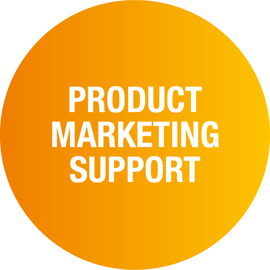 Product marketing support